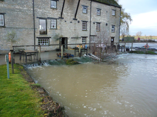 Oundle Mill In Deep Water!