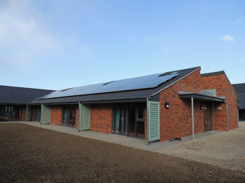 24kW System St Andrews Hospice, Grimsby